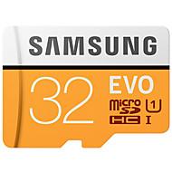 SAMSUNG 32 GB Micro SD kártya TF kártya Memóriakártya UHS-I U1 Class10 EVO