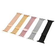 Horlogeband voor Apple Watch Series 4/3/2/1 Apple Milanese lus Roestvrij staal Polsband