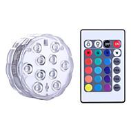 ieftine -YWXLIGHT® 1 piesă LED-uri de lumină de noapte Baterie Rezistent la apă / Intensitate Luminoasă Reglabilă / Wireless LED / Modern contemporan