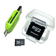 povoljno -mravi 32gb micro sd kartica tf kartica adapter i čitač kartica 3in1 set kombinacija 64g 32g 8g memorije microsd tf / sd kartica