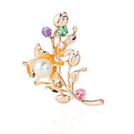 رخيصةأون -نسائي دبابيس موضة بروش مجوهرات ذهبي من أجل زفاف مناسب للحفلات