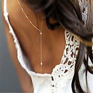 ieftine -Corp lanț / burtă lanț femei Simplu Modă Pentru femei Bijuterii de corp Pentru Petrecere Ocazie specială Perle Imitație de Perle Aliaj Auriu Argintiu