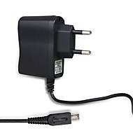 eu plug lader voeding ac adapter voeding muurlader voor nintendo 2ds-zwart / grijs