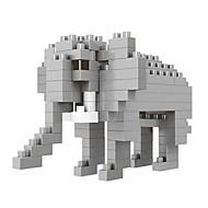 お買い得  -WLtoys ブロックおもちゃ 建設セット玩具 知育玩具 100 pcs 象 カトゥーン アニマル 互換性のある Legoing 動物 DIY 動物 アニマルデザイン 男の子 女の子 おもちゃ ギフト