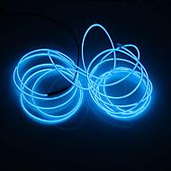 رخيصةأون -BRELONG® 5m أضواء سلسلة 0 المصابيح أبيض / أحمر / أزرق حزب / ديكور / سلك نيون الكترولومينيسسينت 1PC