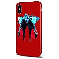 voordelige -hoesje Voor Apple iPhone X / iPhone 8 Plus / iPhone 8 Patroon Achterkant Cartoon Zacht TPU