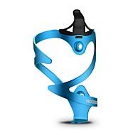رخيصةأون -ROCKBROS دراجة هوائية زجاجة المياه كيج المحمول يمكن ارتداؤها سترة واقيه مضاعف سهل التركيب من أجل ركوب الدراجة دراجة الطريق دراجة جبلية بلاستك هندسة قماش ضد المياه سبيكة ألومنيوم فضي أحمر أزرق