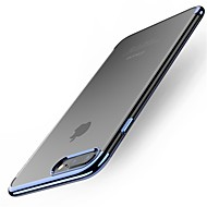 케이스 제품 Apple iPhone X / iPhone 8 Plus / iPhone XS 도금 뒷면 커버 솔리드 소프트 TPU 용 iPhone XS / iPhone XR / iPhone XS Max