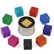 216 pcs 3mm Juguetes Magnéticos Bloques magnéticos Bolas magnéticas Bloques de Construcción Estilo clásico Alivio del estrés y la ansiedad Juguete del foco Juguetes de oficina Bola Niños / Adulto