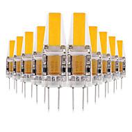 povoljno -ywxlight® 10pcs g4 3w kugla 200-300lm vodio bi-pin svjetla topla bijela bijela bijela bijela bijela svjetiljka led svjetiljka žarulja 12v 12-24v