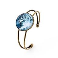رخيصةأون -أساور اصفاد سيدات قوطي زجاج مجوهرات سوار التقزح اللوني من أجل مناسب للحفلات مناسب للبس اليومي