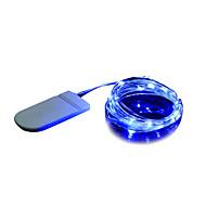 رخيصةأون -BRELONG® 2M أضواء سلسلة 20 المصابيح تراجع LED أبيض دافئ / أبيض / أزرق ديكور 1PC