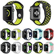 economico -Cinturino per orologio  per Apple Watch Series 5/4/3/2/1 Apple Cinturino sportivo Silicone Custodia con cinturino a strappo