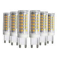 ieftine -ywxlight® 5pcs dimmable g9 9w 76led 2835smd lampă de porumb cald alb rece alb natural natural alb ceramică led 220-240v