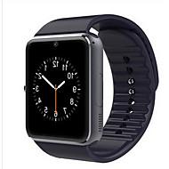 tanie -Męskie Damskie Zegarek sportowy Inteligentny zegarek Zegarek cyfrowy Skóra Czarny / Czerwony Bluetooth Kalendarz / data / dzień Świecący Cyfrowy Casual Kwadrat Moda - Czarny Srebrny Czerwony