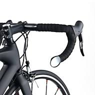 رخيصةأون -ROCKBROS Rearview Mirror مرآة مقود الدراجة المنحني مرن الأمان ركوب الدراجة دراجة نارية دراجة هوائية زجاج أسود 1 pcs دراجة الطريق دراجة جبلية