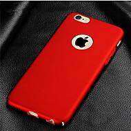 Coque Pour Apple iPhone 8 / iPhone 8 Plus / iPhone XS Plaqué Coque Couleur Pleine Dur PC pour iPhone XS / iPhone XR / iPhone XS Max