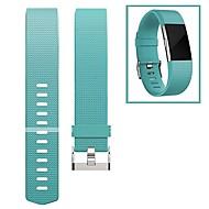 Bracelet de Montre  pour Fitbit Charge 2 Fitbit Boucle Moderne Fluoroélastomère Sangle de Poignet