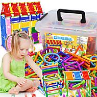 Χαμηλού Κόστους -Τουβλάκια αλληλοσύνδεσης Κτίρια ραβδιά Ανακουφίζει από ADD, ADHD, Άγχος, Αυτισμό Πανέμορφος Αλληλεπίδραση γονέα-παιδιού Κλασσικό Θέμα Κλασσικό 420/1000 pcs Παιδικά Γιούνισεξ Αγορίστικα Κοριτσίστικα
