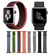 Urrem for Apple Watch Series 4/3/2/1 Apple Moderne spænde Nylon Håndledsrem