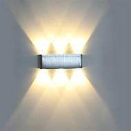 cheap -Modern 6W LED Wall Sconce Light Fixture Indoor Hallway Wall Lamp Aluminum Decorative Lighting LED Integrated  Vanity Light