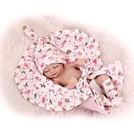 Χαμηλού Κόστους -NPKCOLLECTION NPK DOLL Κούκλες σαν αληθινές Κορίτσι κορίτσι Μωρά Αγόρια Μωρά Κορίτσια 12 inch Σιλικόνη πλήρους σώματος Σιλικόνη - Χαριτωμένο Ασφαλής για παιδιά Non Toxic / Τεχνητή εμφύτευση Brown Eye