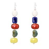 povoljno -Žene Viseće naušnice Statement dame Europska Naušnice Jewelry Duga Za Prom Voljeni 1 par