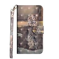Case For Huawei Huawei P20 / Huawei P20 Pro / Huawei P20 lite Wallet / with Stand / Flip Full Body Cases Animal Hard PU Leather