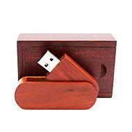رخيصةأون -Ants 8GB محرك فلاش USB قرص أوسب USB 2.0 خشبي / بامبو متناوب