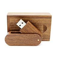 رخيصةأون -Ants 16GB محرك فلاش USB قرص أوسب USB 2.0 خشبي / بامبو متناوب