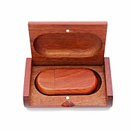povoljno -mravi drveni 16g USB flash pogon usb 2.0 64g 32g 16g 8g 4g 2g usb disk kutija za pakiranje drveni pekmez od bambusa