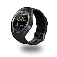 Montre Smart Watch Y1 pour Android iOS Bluetooth Sportif Imperméable Ecran Tactile Calories brulées Longue Veille Podomètre Rappel d'Appel Moniteur d'Activité Rappel sédentaire / Mode Mains-Libres