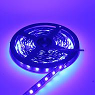 رخيصةأون -hkv® smd 5050 دافئ أبيض بارد أبيض أزرق led قطاع ماء dc12v 5m 300led أسود فيتا led ضوء شرائط مرنة نيون شريط الإضاءة