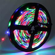رخيصةأون -hkv® ip20 300led 5 متر rgb smd 3528 8 ملليمتر بقيادة قطاع مرنة ديود الشريط 12 فولت بقيادة الشريط ledstrip للمنزل مرنة أدى ضوء شرائط