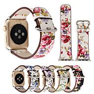 Недорогие -Ремешок для часов для Apple Watch Series 6 / SE / 5/4 44 мм / Apple Watch Series 6 / SE / 5/4 40 мм Apple Классическая застежка Натуральная кожа Повязка на запястье