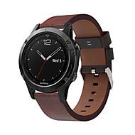 voordelige -smartwatch band voor approach s60 / forerunner 935 / quatix5 garmin high-end lederen lus lederen band quickfit polsband 22mm