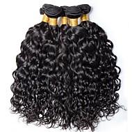 povoljno -6 paketića Brazilska kosa Water Wave Ljudska kosa Netretirana  ljudske kose Ljudske kose plete Produžetak Bundle kose 8-28 inch Prirodna boja Isprepliće ljudske kose Svilenkast Rasprodaja Gust