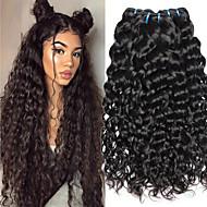 povoljno -4 paketića Vijetnamska kosa Water Wave Ljudska kosa Netretirana  ljudske kose Ljudske kose plete Styling kose Produžetak 8-28 inch Prirodna boja Isprepliće ljudske kose Nježno Novi Dolazak Gust / 8A