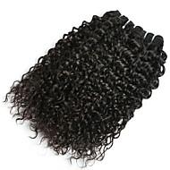 povoljno -6 paketića Malezijska kosa Water Wave Ljudska kosa Netretirana  ljudske kose Ljudske kose plete Produžetak Bundle kose 8-28 inch Prirodna boja Isprepliće ljudske kose Svilenkast Vjenčanje Za crnkinje