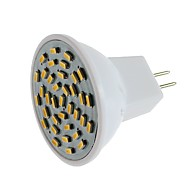 SENCART 1pc 3 W 600 lm G4 Focos LED MR11 36 Cuentas LED SMD 3014 Decorativa Blanco Cálido / Blanco Fresco 12 V / 1 pieza / Cañas