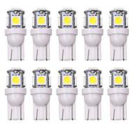 ieftine -SO.K 10pcs T10 Mașină Becuri 5 W 160 lm LED Lumini de interior