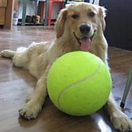 olcso -Golyó Rágójátékok Teniszlabda Interaktív játék Kutyák Macskák Házi kedvencek Házi kedvencek Játékok 1db Háziállat-barát Vegyes anyag Ajándék