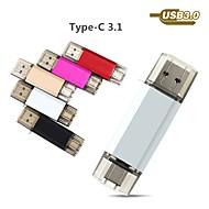 رخيصةأون -Ants 32GB محرك فلاش USB قرص أوسب USB 3.0 / نوع C قذيفة معدنية غير منتظم أغطية