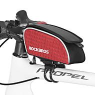 رخيصةأون -ROCKBROS حقيبة دراجة الإطار 15 بوصة ركوب الدراجة إلى أخضر أسود أحمر أخضر / الدراجة الدراجة دراجة قابلة للطي