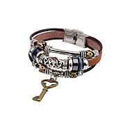 voordelige -Heren Bangles Vintagestijl Stijlvol Legering Armband sieraden Bruin Voor Dagelijks