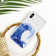 hoesje Voor Apple iPhone XS / iPhone XR / iPhone XS Max Patroon Achterkant Landschap / Cartoon Zacht TPU