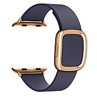 economico -Cinturino per orologio  per Apple Watch Series 5/4/3/2/1 / Apple Watch Series 4 Apple Chiusura moderna Vera pelle Custodia con cinturino a strappo