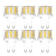 ieftine -YWXLIGHT® 6pcs 5 W Becuri LED Bi-pin 500 lm G9 T 52 LED-uri de margele SMD 2835 Intensitate Luminoasă Reglabilă Alb Cald Alb Rece Alb Natural 200-240 V