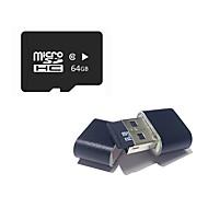 رخيصةأون -Ants 64GB بطاقة مايكرو SD بطاقة TF شريحة ذاكرة CLASS10 64GB Micro SD Card TF Card