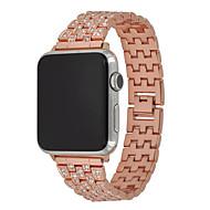 voordelige -Horlogeband voor Apple Watch Series 5/4/3/2/1 Apple Moderne gesp Roestvrij staal Polsband
